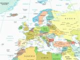 Seas In Europe Map 36 Intelligible Blank Map Of Europe and Mediterranean