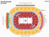 Seating Map Air Canada Centre Seat Number Charts and Diagrams