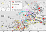 Seismic Map Of Europe Active Faults Earthquake Mechanisms and Centroid Depths