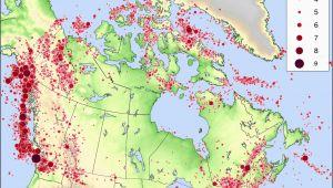 Seismic Zone Map California Live Earthquake Map California Best Of Map Earthquakes Around the