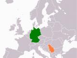 Serbia On Europe Map Datei Germany Serbia Locator Png Wikipedia