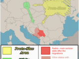 Serbia On Europe Map Serbia In the Middle Ages Wikipedia