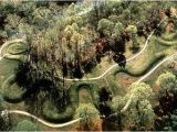 Serpent Mound Ohio Map the Great Serpent Mound Peebles Ohio atlas Obscura