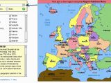 Sheppard software Europe Map Europe Map with Capitals Game