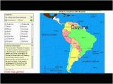 Sheppard software Europe Map Learn the Countries Of south America and Central America Geography Video