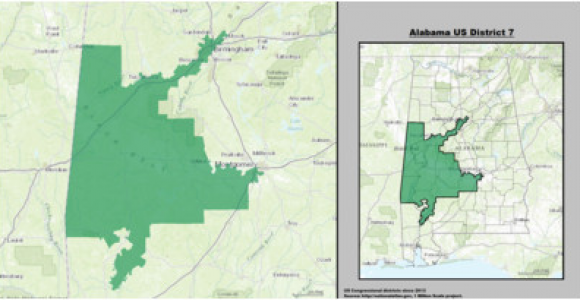 Show Map Of Alabama Alabama S 7th Congressional District Wikipedia