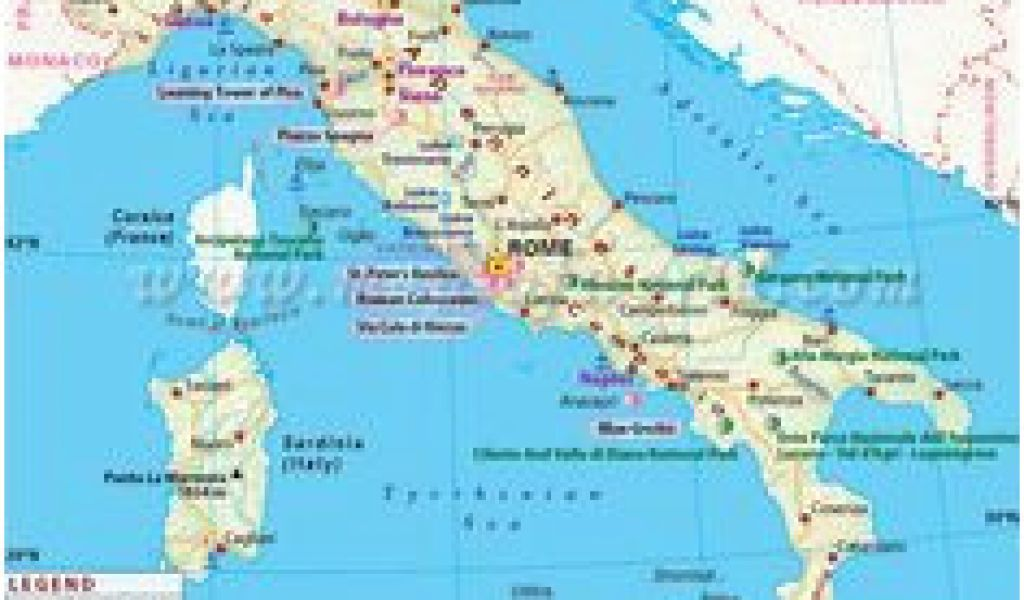 Show Me A Detailed Map Of Italy 106 Best Country Maps Images ...