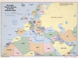 Show Me A Map Of Eastern Europe 36 Intelligible Blank Map Of Europe and Mediterranean