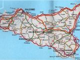 Sicily Europe Map Pin On Sicily