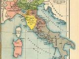 Sicily On Map Of Italy Italy From 1815 to the Present Day 1905 by Friedrich Wilhelm