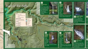 Silver Falls oregon Map Silver Falls State Park Maplets