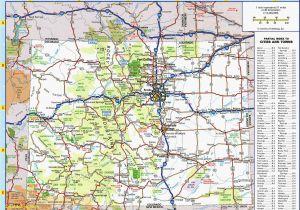 Silverton Colorado Map Top Of The Rockies Map America S Byways Go