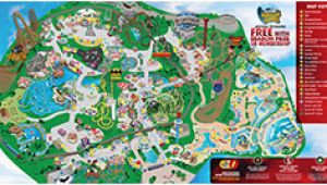 Six Flags California Map Park Map Six Flags Great America