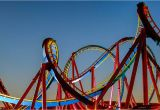 Six Flags California Map Six Flags Magic Mountain Things You Need to Know
