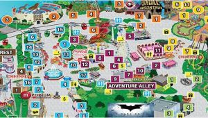 Six Flags Map New England Park Map Six Flags Great Adventure