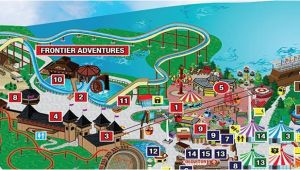 Six Flags New England Park Map Park Map Six Flags Great Adventure