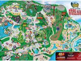 Six Flags Over Georgia Map Park Map Six Flags Great America
