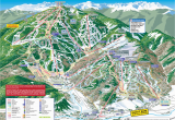 Ski areas In Colorado Map Trail Maps Arrowhead at Vail