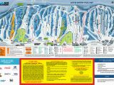 Ski Resorts Canada Map Blue Mountain Trail Map Onthesnow