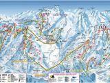 Ski Resorts In Italy Map Sestriere Piste Map