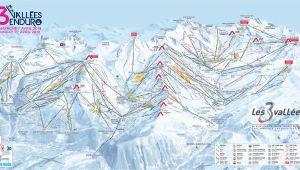 Ski Resorts In Ohio Map Three Valleys Piste Map