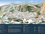 Ski Resorts In southern California Map Mountain Creek Resort Trail Map Onthesnow
