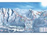 Ski Resorts In Spain Map La Clusaz Piste Map Trail Map