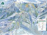 Skiing Canada Map Colorado Springs Ski Resorts Map Trail Maps for Each Of Utah