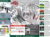 Skiing Canada Map Trail Map Mount Washington