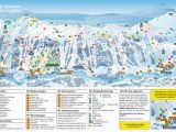 Skiing In France Map Trail Map Tanndalen