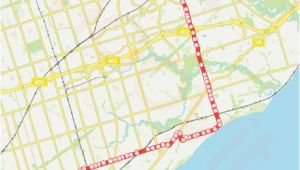 Skytrain Map Canada Line 116 Route Time Schedules Stops Maps Eglinton Ave East