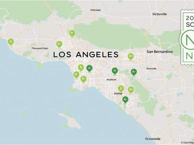 Slab City California Map Map Of Long Beach California and ...