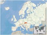 Slovakia On A Map Of Europe atlas Of Slovakia Wikimedia Commons