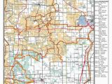 Snowmobile Trails Michigan Map Cadillac Winter Promotions