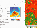 Soil Map Europe A Location B topographic and C Land Use Map Of the