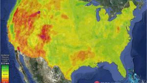 Soil Temperature Map Texas First Geothermal Energy Map Of the Usa now In Google Watts Up with
