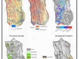 Solar Insolation Map Canada Spatial Data Layers Accounting for Watersheds solar