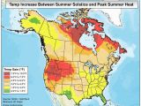 Solar Insolation Map Canada Summer solstice Climate and Extremes