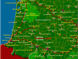 South Coast France Map south West France Map