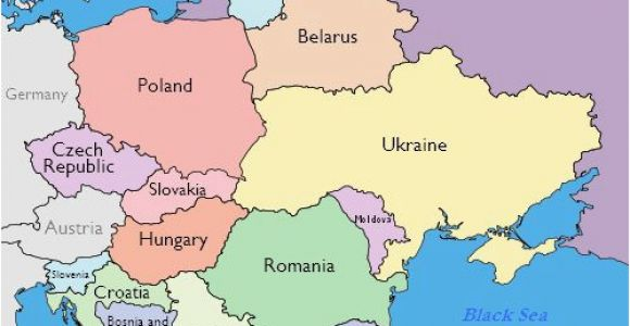 South Eastern Europe Map Maps Of Eastern European Countries