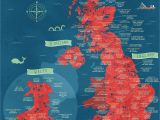 South Of England Map Uk A Literal Map Of the Uk Welsh Things Map Of Britain Map Of
