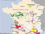 South Of France Airports Map Map Of French Vineyards Wine Growing areas Of France