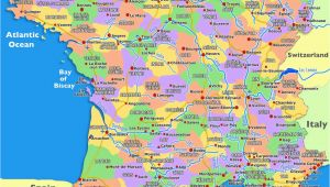 South Of France Map Regions Guide to Places to Go In France south Of France and Provence