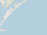 South Padre island Map Texas Maps Padre island National Seashore U S National Park Service