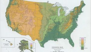 Southern California Elevation Map Us Elevation Road Map Save Best California Elevation Map Best