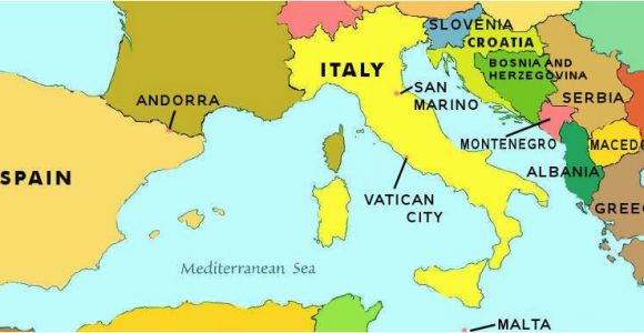 Southern Europe Map Quiz southern Europe Map Locating Countries On A Map Me Stuff