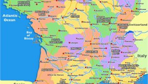 Southern France Map Cities Guide to Places to Go In France south Of France and Provence