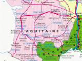 Southern France Map Detailed the 39 Maps You Need to Understand south West France the Local