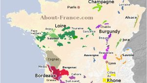 Southern France Wine Map Map Of French Vineyards Wine Growing areas Of France