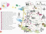 Southwest France Map Caroline Donadieu Guide Des Abbayes south West France Map Map